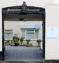 Faringdon Clinic entrance