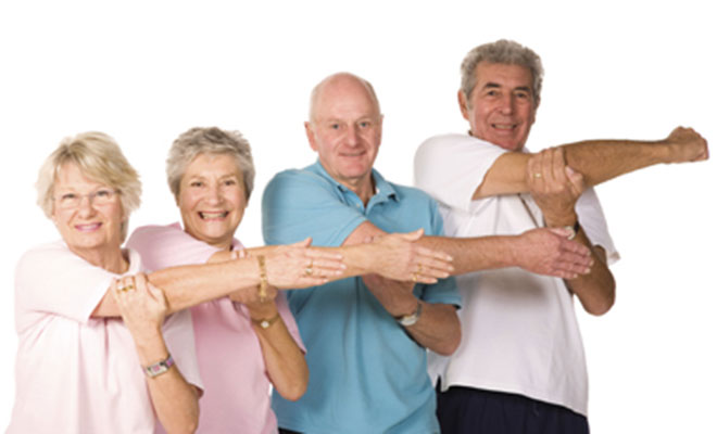 Exercise classes for the over 65