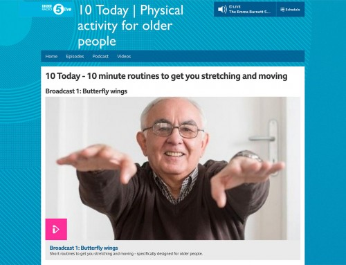BBC 5 Live: Physical Activity for Older People
