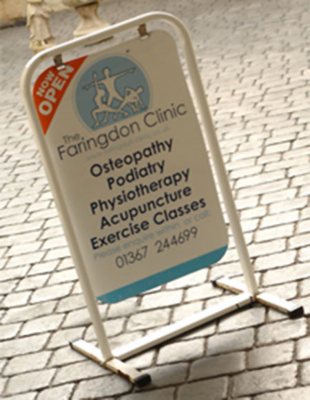Contact the Faringdon Clinic