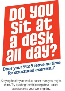 Do you sit at a desk all day exercises (PDF)