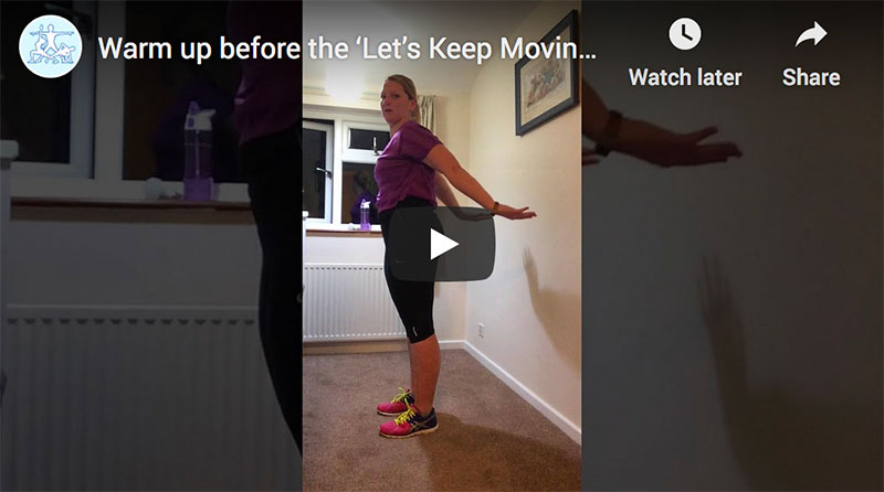 Let's Keep Moving videos