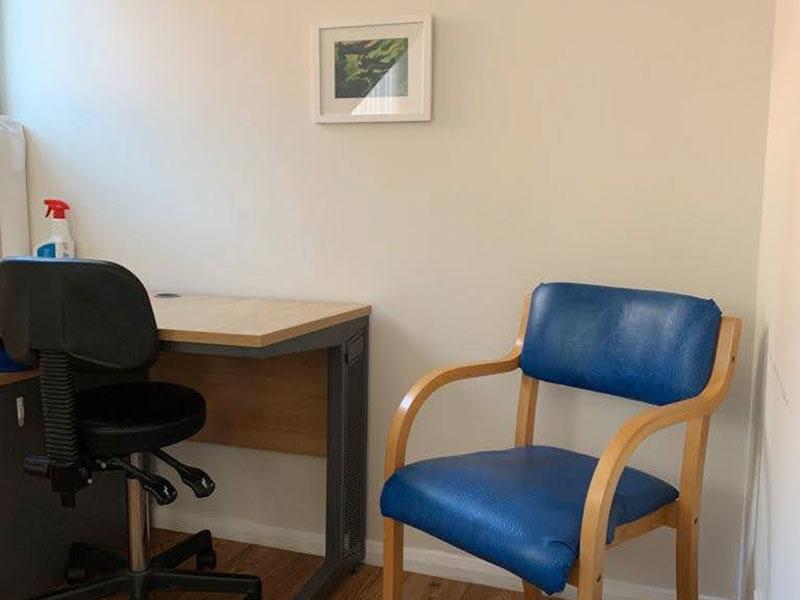 Faringdon Clinic treatment room